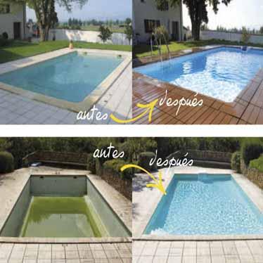 Reparación y transformación de piscinas